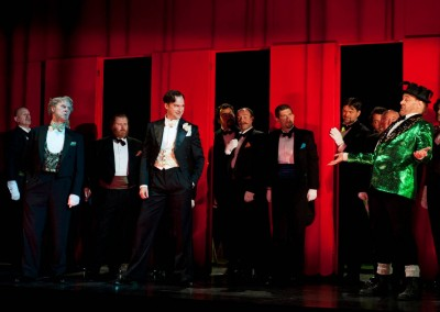 Hercogas, Rigoletto, Scottish Opera, 2011 (d. Ringborg, r. Richardson) 6/8