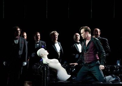Duke, Rigoletto, Scottish Opera, 2011 (c Ringborg, d Richardson) 2 / 8