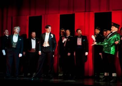 Duke, Rigoletto, Scottish Opera, 2011 (c Ringborg, d Richardson) 6 / 8