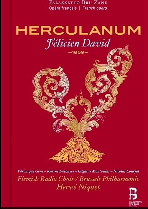 Félicien David Herculanum CD
